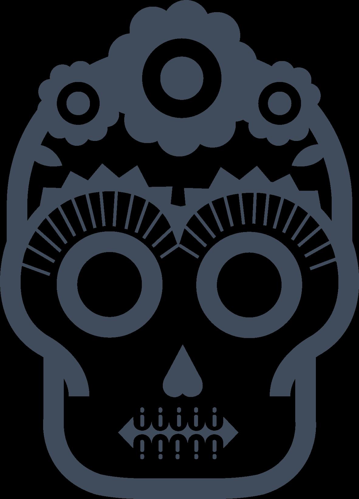 Laescondida_skull_solo